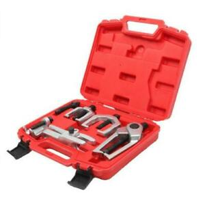 5pcs Front Ball Joint Separator Pitman Arm Puller Jaw Spread Separator Tool Set