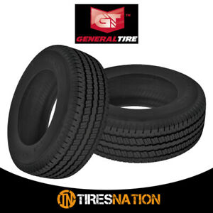 2 New General Ameritrac Tr Lt235 80r17 120 117r All Terrain Light Truck Tire