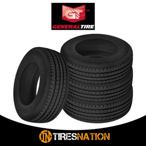 4 New General Ameritrac 235 80r17 120 117r Tire