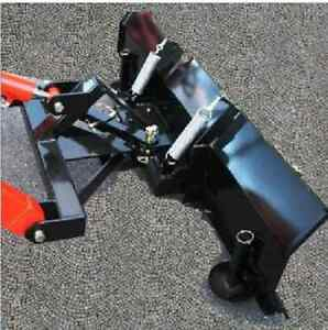 New Hydraulic 5 Snow Plow Blade Subcompact Tractor Mahindra Emax Loader Hst 60