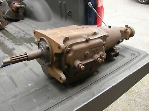 69 Camaro Saginaw 4 Speed Transmission 1 Groove Dated November 1968 3925656