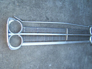 Mopar 1967 Plymouth Grille And Headlight Bezel Set With Hood Trim Set 67 Fury
