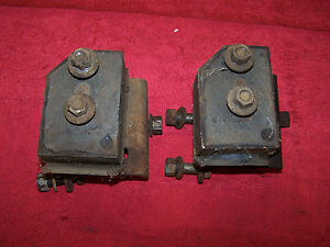 Mopar 62 65 B body 273 318 Motor Engine Mounts Fury Polara Coronet Belvedere 330
