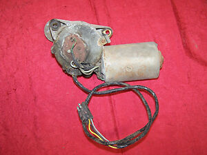 Mopar Prestolite Wiper Motor Dodge 1963 Chrysler 300 Newport New Yorker 63 64