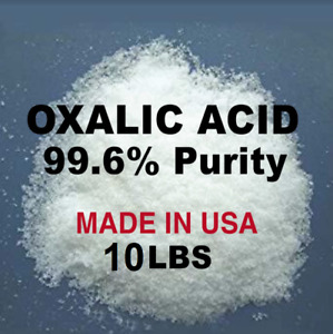 Oxalic Acid 99 6 10 Lb Deck Crystals Metal Cleaning Rust Removal Free Ship