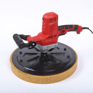 New 110v Concrete Cement Mortar Electric Trowel Wall Smoothing Polishing Machine