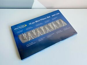 New Blue Point 10 Pc Miniature Pliers Cutters Set Bmpl1000