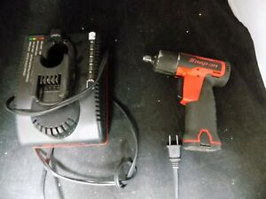 Snap On Ct661 7 2v Lithium Ion 3 8 Cordless Impact Kit w One Battery Charger