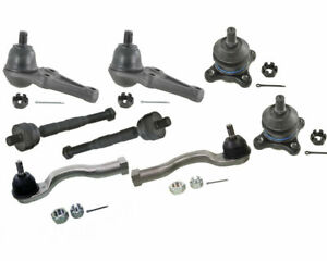 8 Pcs Steering Kit Ball Joints Tie Rods For Mitsubishi Montero 3 5l 2001 2006