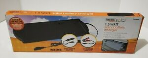 12 Volt Car Rv Motorcycle Solar Panel Battery Charger Maintainer Free Ship