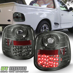 Smoke Tinted 1997 2003 Ford F 150 F150 Flareside Lumileds Led Tail Lights Lamps