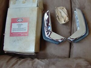 1965 65 1966 66 Ford Galaxie Xl 500 Ltd Fairlane Falcon Comet Nos Bumper Guards
