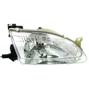 New Right Halogen Head Lamp Assembly Fits Toyota Corolla 1998 2000 To2503121