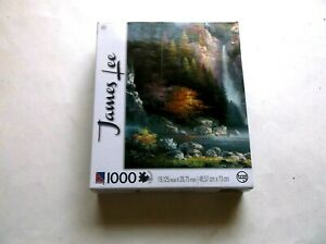 MISTY FALLS BY JAMES LEE 1000 PIECES TCG COMPLETE 2013 $2.99