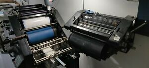 Ab Dick 9870 Offset Printing Press With T head