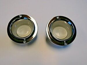 Mopar 66 67 68 69 70 Coronet Charger Console Light Housings With Lenses New