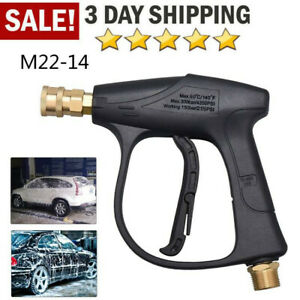 3000 Psi High Pressure Washer Trigger Gun Quick Release Lance Foam Spray Us Fast