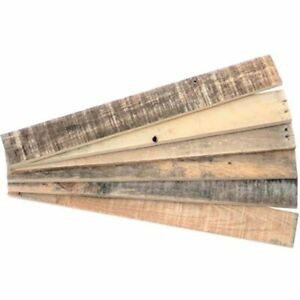 Reclaimed Pallet Wood Boards 24 In 6 Pack Natural