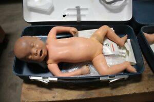 Laerdal Resusci Baby Anne Cpr Training Infant Manikin And Hard Case Working
