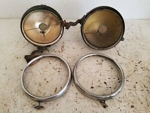 Antique Trippe Safety Speedlight Automobile Car Headlight Driving Light Parts