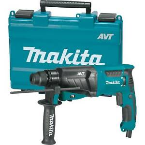 Makita Hr2631f 1 inch Avt 7 amp Corded Rotary Hammer Drill Accepts Sds plus Bits