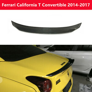 Ferrari California T 2014 17 Real Dry Carbon Fiber Trunk Spoiler Rear Wing