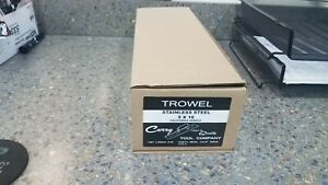 Curry Trowel Stainless Steel 5x16