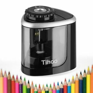 Us Electric Pencil Sharpener Automatic Touch Switch School Office Classroom Kids