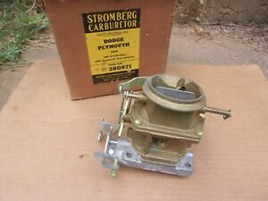 1960 1961 Plymouth Dodge 318 Nos Stromberg Ww 2bbl Carburetor