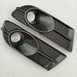 2xfor Buick Verano Excelle Gt 12 15 Carbon Fiber Color Left Right Fog Lamp Cover