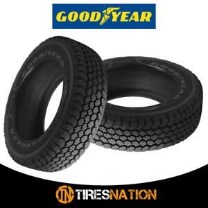 2 New Goodyear Wrangler At Adventure W Kevlar 265 65r17 112t 640 Ab Tires