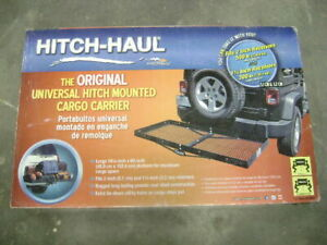 New Hitch Haul Original Universal Mounted Cargo Carrier By Masterbuilt 500 Lb