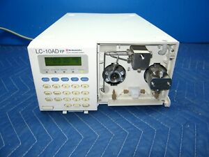 Shimadzu Lc 10ad Vp Hplc Lc Pump Liquid Chromatography System 60 Day Warranty