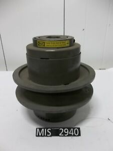 New Tb Wood s Mcs 14y 14 Variable Sheave Pulley 2 375 Bore mis2940