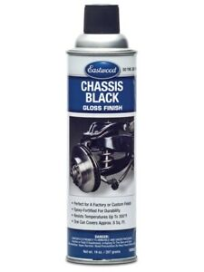 Eastwood Chassis Black Gloss Aerosol 14 Oz Resists Corrosion Chips And Scratches
