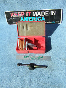 Moore Tool Co 3057a Jig Bore Used Dog leg With Swiss 0001 Indicator Machinist