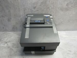 New Ibm 4610 2cr Thermal Pos Receipt Printer W Check Scan Gray