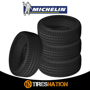 4 New Michelin Pilot Sport 4s 245 40 18 97y Max Performance Summer Tire
