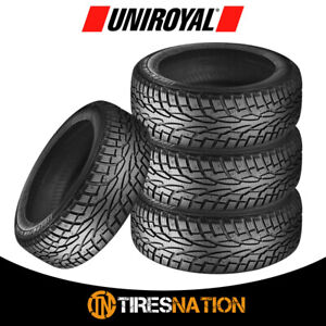 4 New Uniroyal Tiger Paw Ice Snow 3 225 50r17 94t Tires