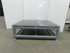 1 1 4 Thick Top Steel Fabrication Layout Welding Table Work Bench 72 x60 x25