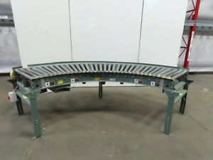 Hytrol 190 lrc 90 Live Powered Roller Curve Conveyor 34 208 230 460v 3ph