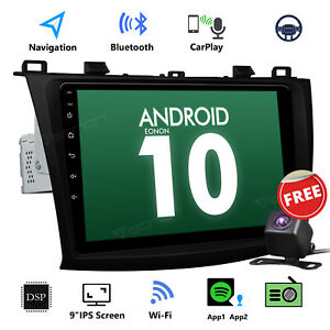 Cam For Mazda 3 2010 2011 2012 2013 Android 10 9 Car Gps Radio Stereo Headunit