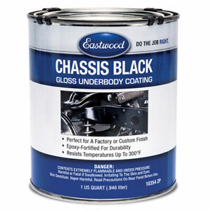 Eastwood Chassis Black High Gloss Quarts Resists Corrosion Chips And Scratches