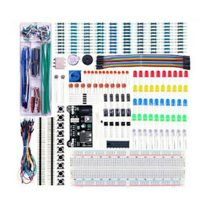 Basic Starters Electronics Prototyping Breadboard With Components Kit Practical