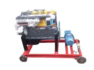 4 Stroke 6 Cylinder Diesel Engine Actual Cut Section Working Model Motor Driven