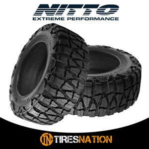 2 New Nitto Mud Grappler X Terra 35 1250 20 121q Mud Terrain Tire