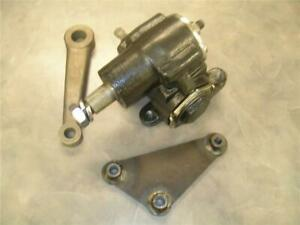 Vega Steering Box With Pitman Arm And Bracket Street Rat Rod Model A Ford 20 1