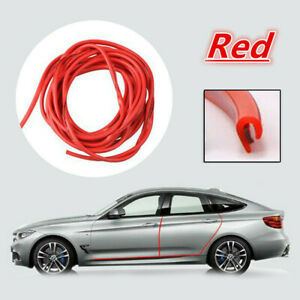 Car Door Edge Trim Molding Rubber Seal Strip Scratch Protector Guard 5m 1 6ft