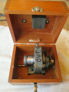Harig Grind All Precision Grinding Fixture With Nice Wood Case
