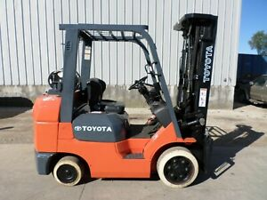 Toyota Model 7fgcu30 2006 6000 Lbs Capacity Great Cushion Tire Forklift